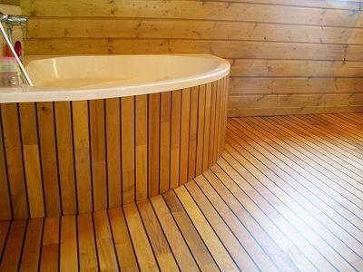 Fran ois vin parqueteur chatillon en bazois nievre bourgogne 58 r alisa - Habillage baignoire en bois ...